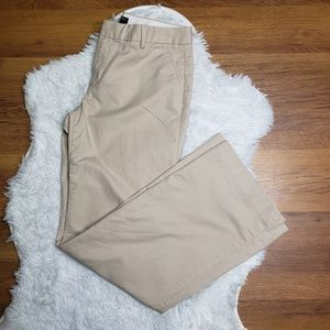 Banana Republic 10R Tan Martin Fit Trousers
